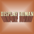 Display Roman JNL