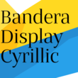 Bandera Display Cyrillic™