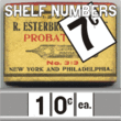 Shelf Numbers JNL