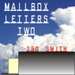 Mailbox Letters Two JNL