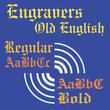 Engravers Old English