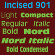 Incised 901