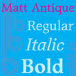 Matt Antique
