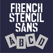 French Stencil Sans JNL