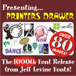 Printers Drawer JNL