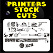 Printers Stock Cuts JNL