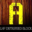 LHF Distressed Block™