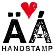 Hand Stamp Swiss Rough Sans