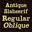 Antique Slabserif JNL