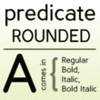 Predicate Rounded™