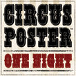 Circus Poster Shadow™
