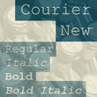 Courier New®