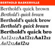 Berthold Baskerville® BE