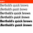 Berthold City® BE