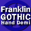 FranklinGothicHandDemi