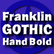 FranklinGothicHandBold