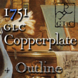 1751 GLC Copperplate