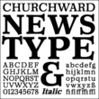 Churchward Newstype™