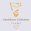 Carrotflower Celebration Icons™