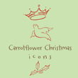 Carrotflower Christmas Icons™