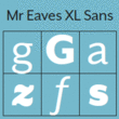 Mr Eaves XL Sans