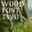 Wood Font Two