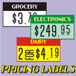 Pricing Labels JNL