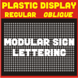Plastic Display JNL