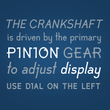 Pinion Display