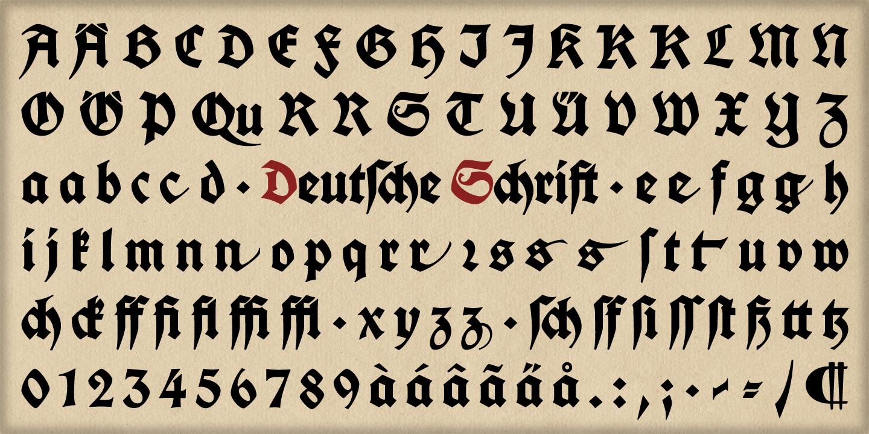 Deutsche Schrift Webfont Desktop Font Myfonts