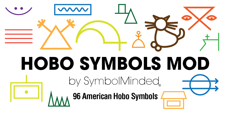 Hobo Symbols Mod Webfont Desktop Font Myfonts