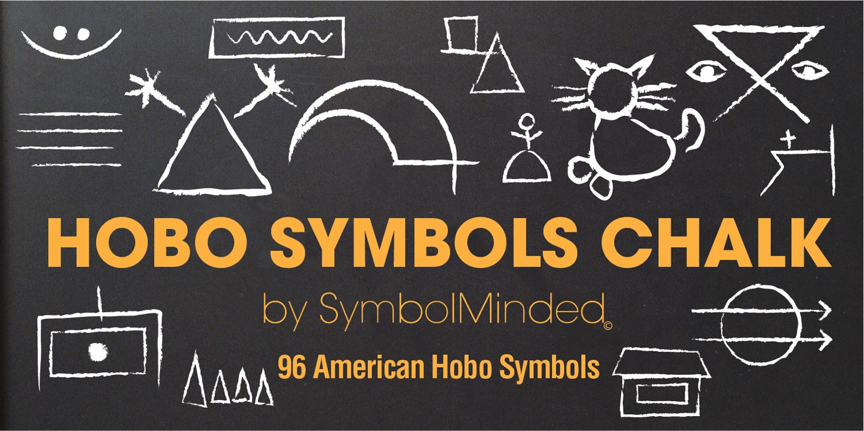 Hobo Symbols Chaulk Webfont Desktop Font Myfonts