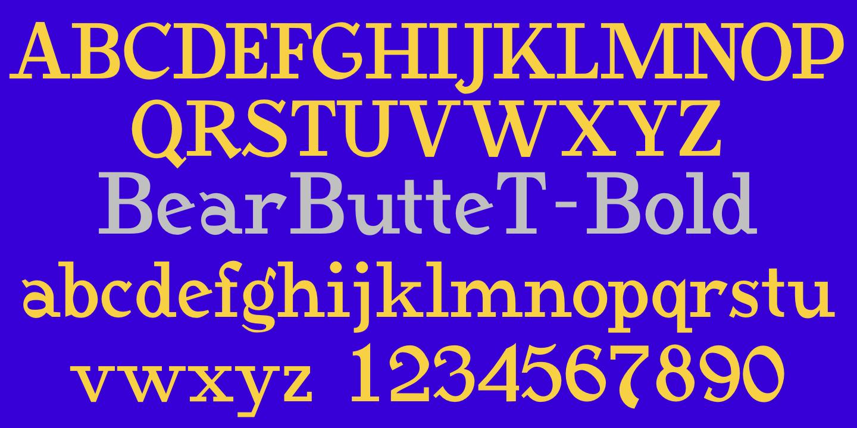youjest bold font