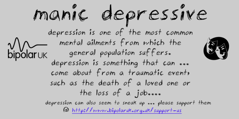 Dating a manic depressive