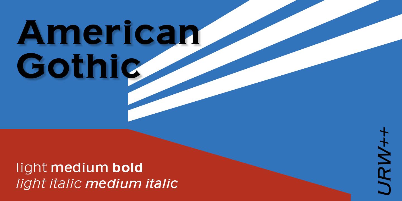 american gothic medium