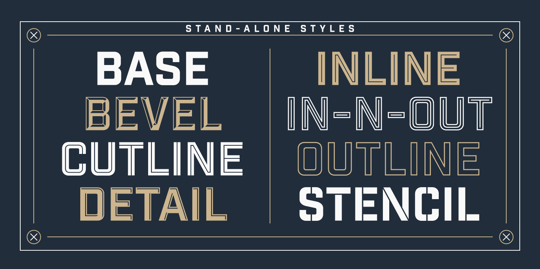 industrial fonts - Hizir kaptanband co