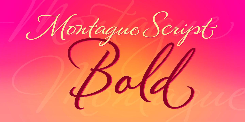 montague script bold montague script bold