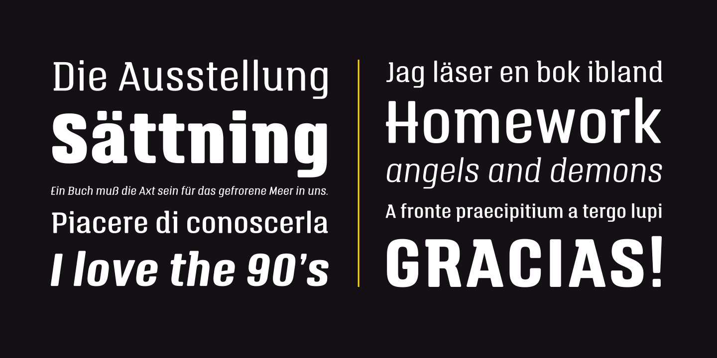 Axt advertising font free download
