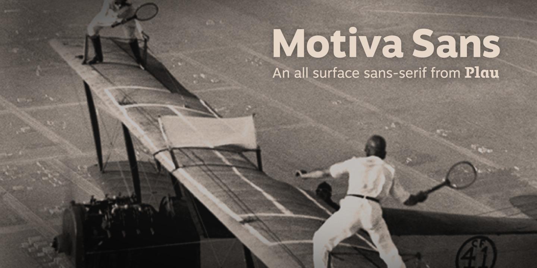 motiva sans bold font