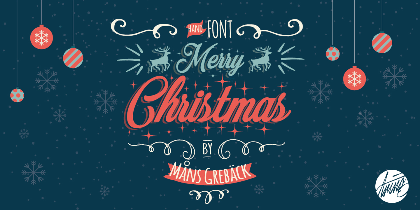 Merry Christmas - Webfont & Desktop font « MyFonts