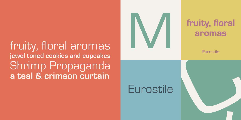 Eurostile font 50 free fonts