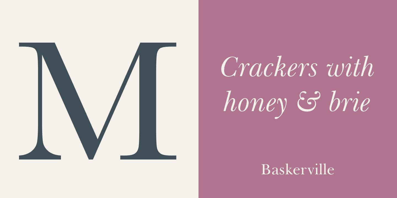 John Baskerville Myfonts: baskerville