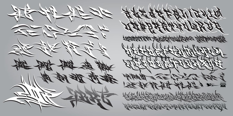 Graffiti Fonts MyFonts
