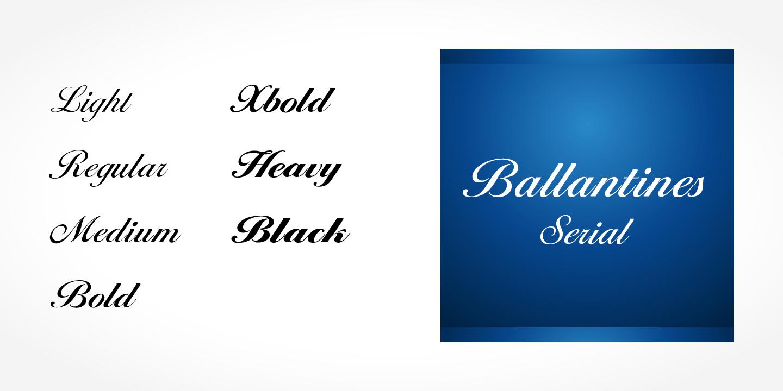 ballantines serial