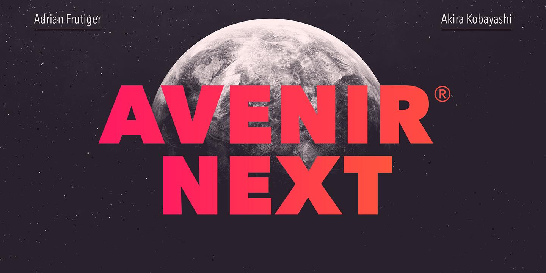 Avenir Next Webfont Desktop Font Myfonts