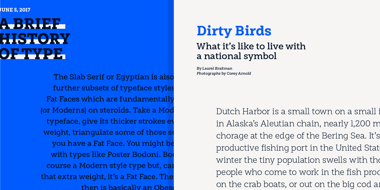 Los Andes « MyFonts