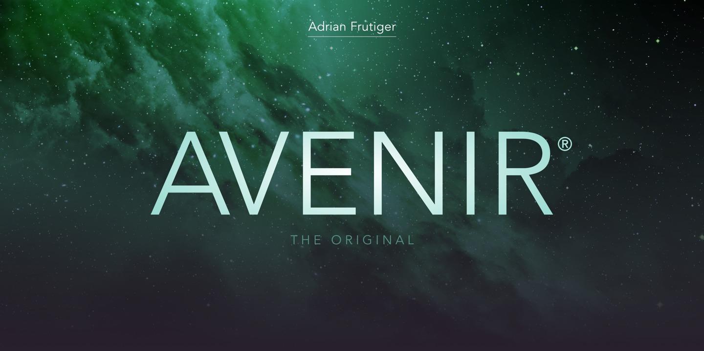 Avenir® Next - Webfont & Desktop font « MyFonts