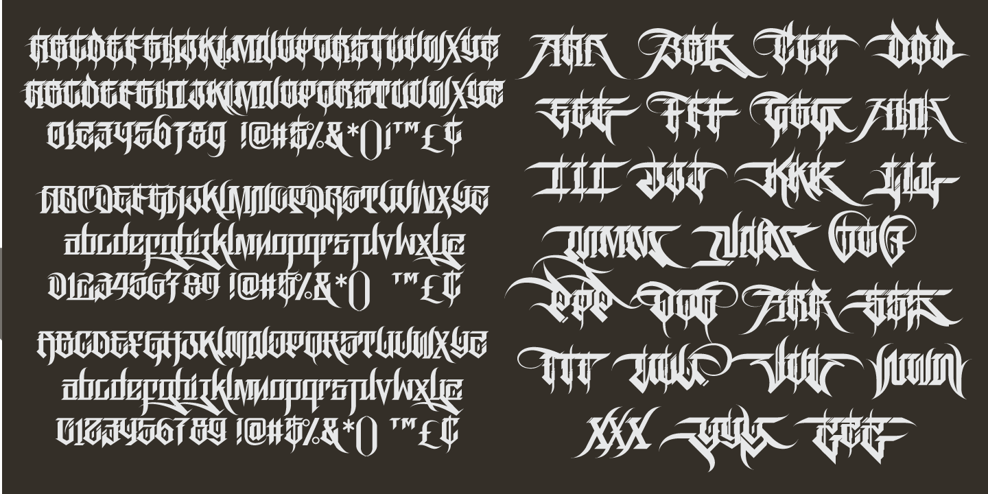 Graffiti Fonts « MyFonts