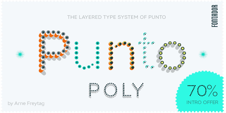 Punto Poly - Webfont & Desktop font « MyFonts