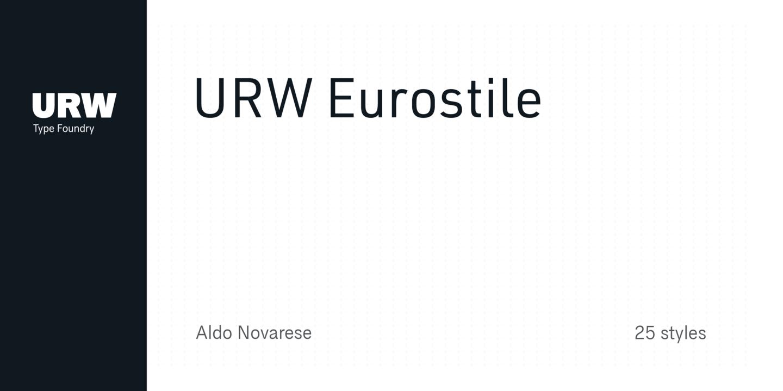 eurostile font family